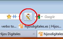 Botón GDT Firefox