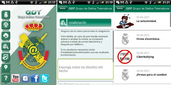 Captura GDT Android
