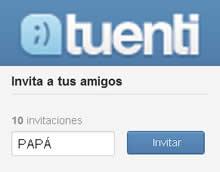 Invitación a Papá
