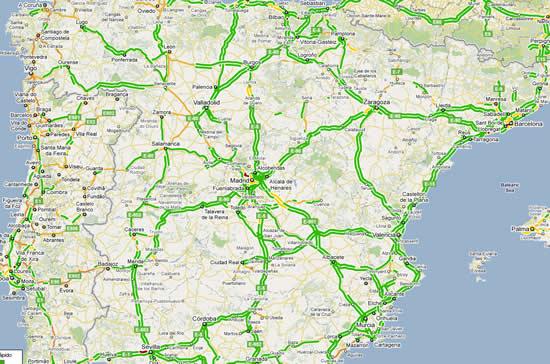 Tráfico en mapas