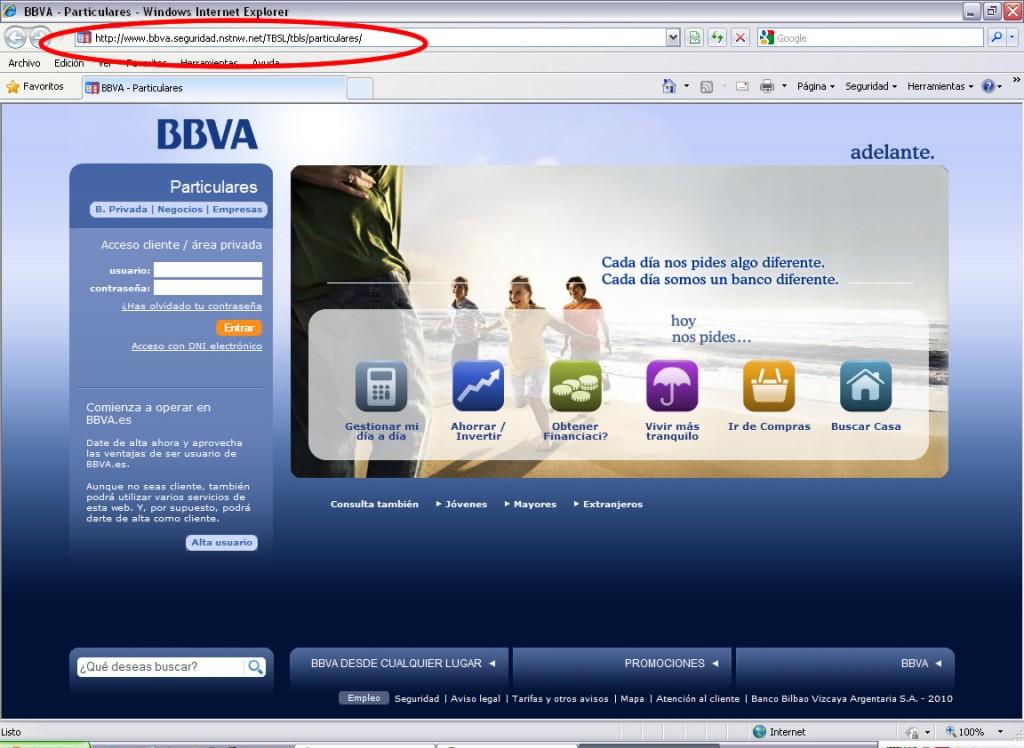 Phishing BBVA