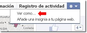 Biografía de Facebook