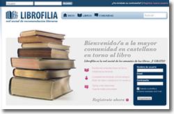 Redes literarias. Librofilia