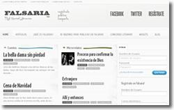 Redes literarias. Falsaria