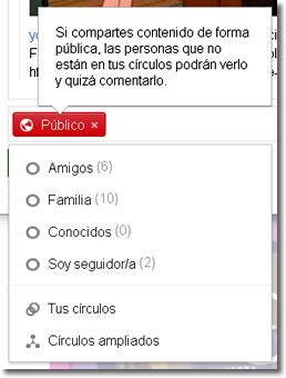 Google plus adapta cuentas a menores