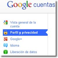 Revisa tu cuenta Google