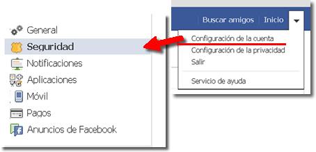 Seguridad avanzada en Facebook