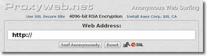 Proxy-web