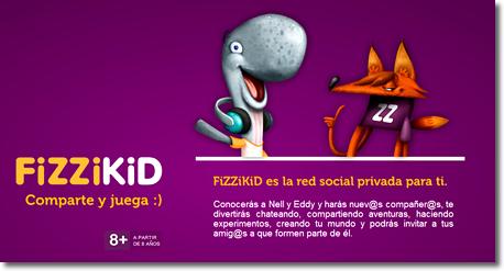 FiZZiKiD una red social educativa para niños
