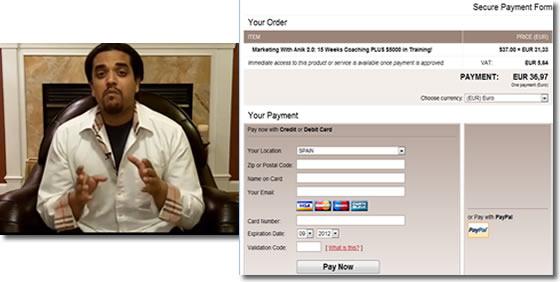 Intentos de fraude online