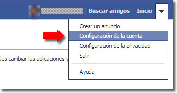 Configura las notificaciones de Facebook