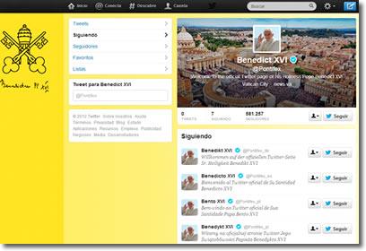 Twitter del Papa
