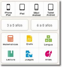 Applicaditos, aplicaciones para niños