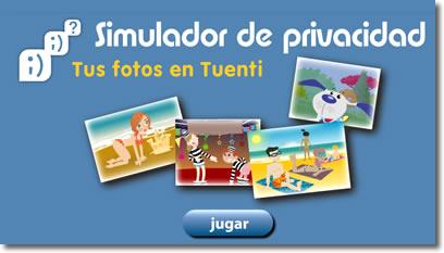 Simulador privacidad Tuenti