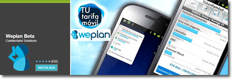 WePlan, optimiza tu tarifa del movil