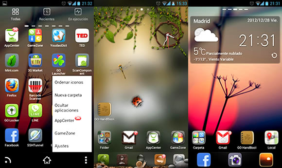 Launcher Android Go