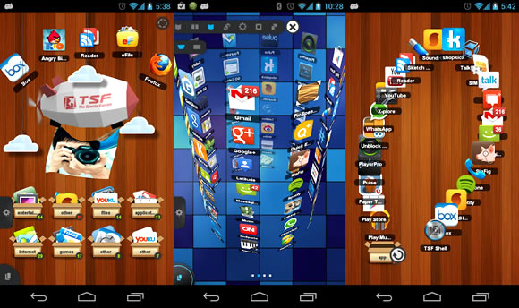 Launcher Android TSF Shells