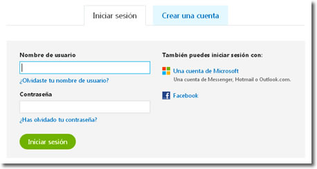 Actualizar Messenger a Skype