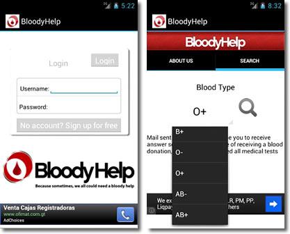 Las nuevas tecnologías con el donante de sangre