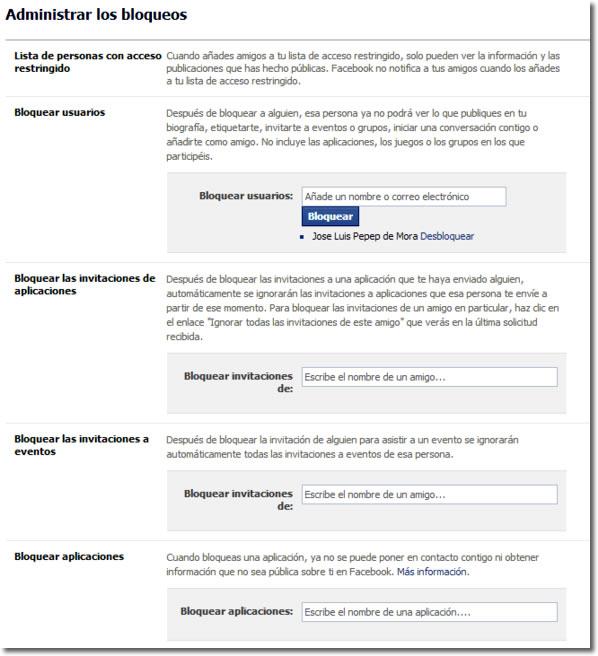 Seguridad para nuestra información en Facebook