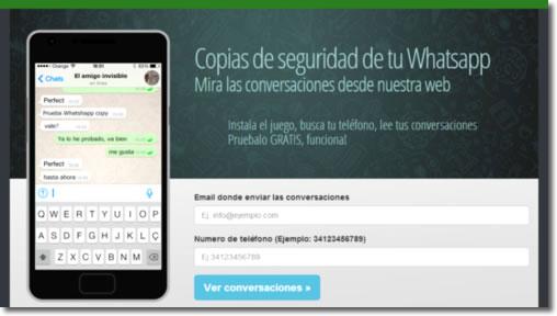 BalloonPop2 roba las conversaciones del WhatsApp