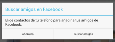 Comprueba si has compartido tu agenda del móvil con Facebook