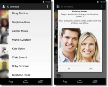 Copiar las fotos de perfil del WhatsApp a la agenda del móvil
