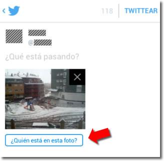 Cómo evitar las etiquetas en las fotos de twitter