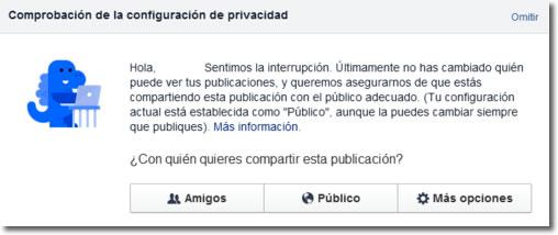 Facebook da un giro hacia la privacidad