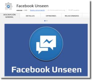 Ocultar a nuestros contactos la marca Visto en Facebook