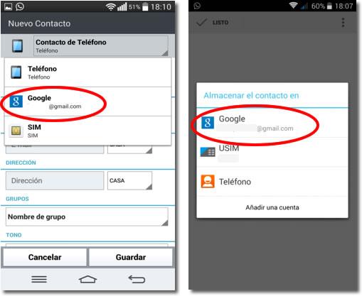 Cómo conservar la agenda de contactos del móvil para siempre