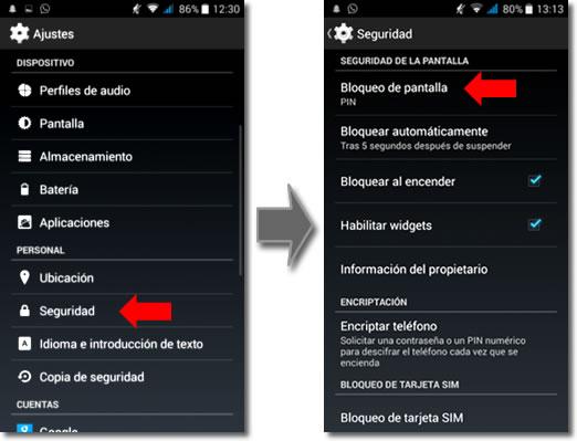 ¿Por qué debo bloquear el acceso al móvil y cómo hacerlo?