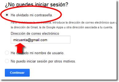 Como puedo ver mi contraseña de gmail