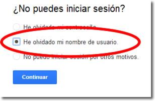 Cómo recuperar la cuenta de Google de mi Android
