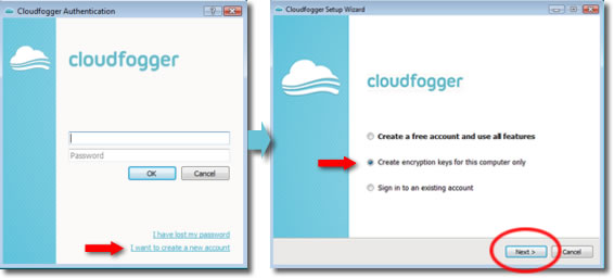 Cloudfogger y DropBox