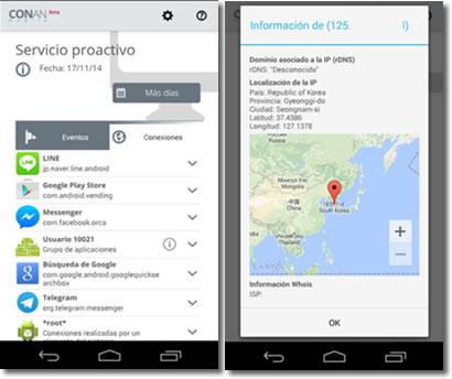 CONAN Mobile revisa y mantiene la seguridad de tu móvil Android