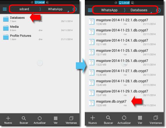 Parte 1. Accidentalmente eliminado sus mensajes de WhatsApp?