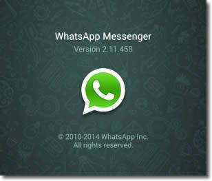 mensaje que logra bloquear una conversación de Whatsapp