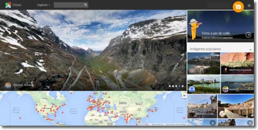 Explora el mundo con Google views y con sus caminatas