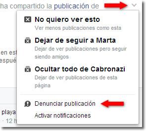 Qué denunciar en Facebook y cómo hacerlo