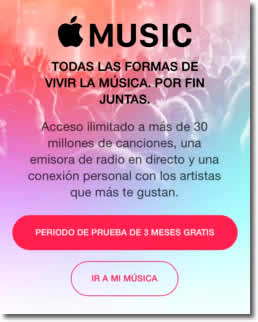 Apple Music se instala si actualizamos a iOS 8.4