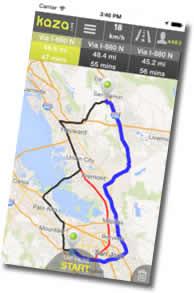 Las mejores aplicaciones para avisos de radares en carretera