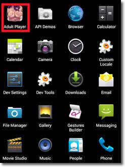 Cuidado con las aplicaciones para adultos en los teléfonos