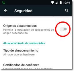 Consejos para mejorar la seguridad de nuestro Android