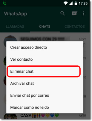 CWhen we delete a chat in whatsapp the files it contains do not disappear