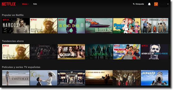 Netflix, el gigante de la TV por Internet llega a España