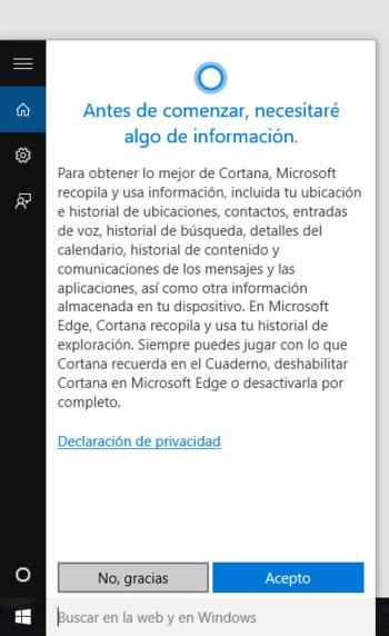 Las opciones de privacidad de Windows 10 que debemos revisar
