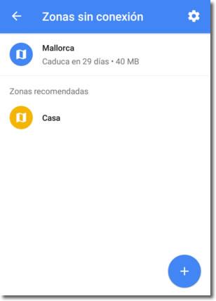Ya es posible utilizar los mapas de Google en España sin conexión