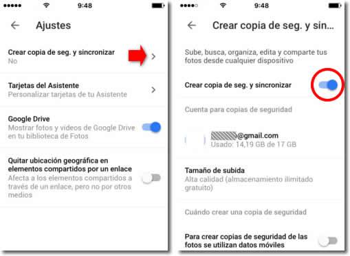 Cómo pasar los datos de un iPhone a un Android