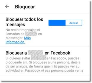 Cómo bloquear los mensajes de un amigo en Facebook o Messenger